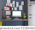 监测 电脑 桌子 53384460
