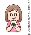 Women's illustration 53409267
