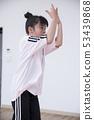 孩子们跳舞教室形象 53439868