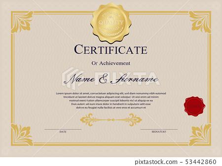 diploma vintage 53442860