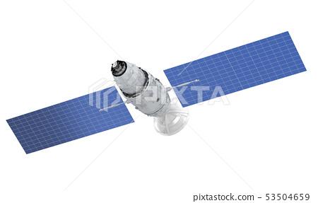 Satellite dish with antenna 53504659