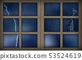 窗 下雨 雨 53524619