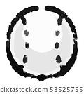 Baseball ball clipart 53525755