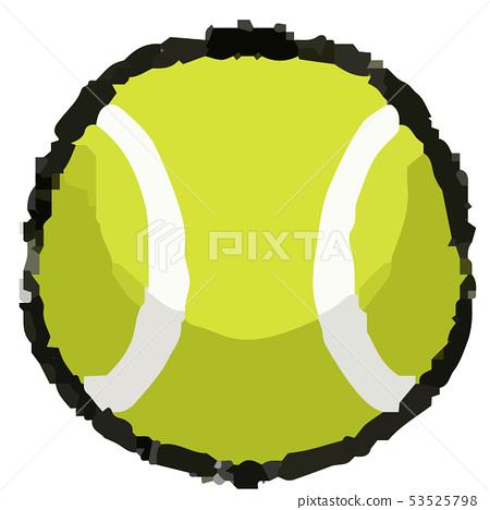 網球例證 53525798