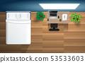 卧室 房间 桌子 53533603