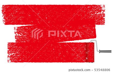 背景例證繪與漆滾筒 53548806
