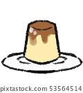 Illustration of pudding 53564514