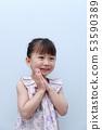 休閒(夏裝春裝女童日系兒童3歲時尚人像馬尾辮) 53590389