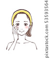 美麗的女性面孔 53593564
