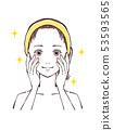 美麗的女性面孔 53593565