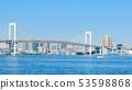 Rainbow Bridge seen from Toyosu-Gururi Park 53598868