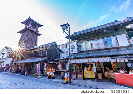 Time bell and kanetsuki street 53607652