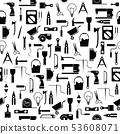 diy tool seamless pattern background icon. 53608071