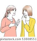女性對話2人 53608551