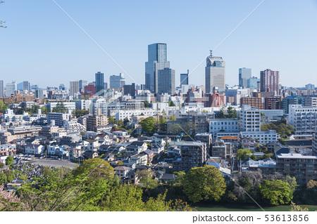 센다이 거리 빌딩 아파트 숲의 도시 53613856