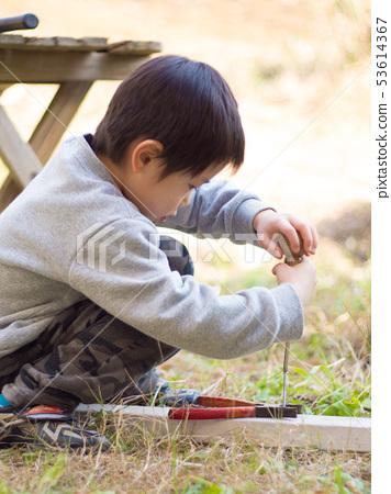 어린이 공구 놀이 53614367