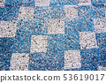 old mosaic 53619017