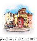 Provancal house, Menton, France 53621843