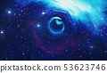 Travel through a wormhole through time and space filled with millions of stars and nebulae. Wormhole 53623746