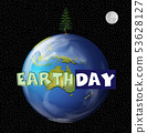 An earth day icon 53628127
