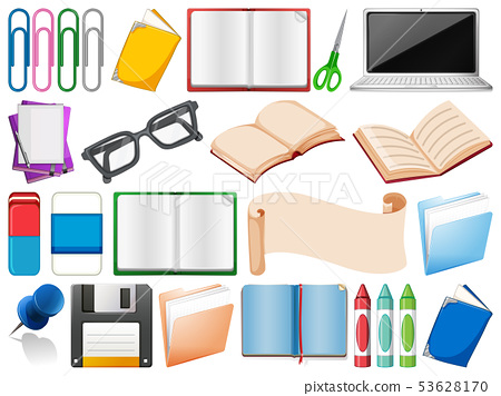 Set of office stationery 53628170