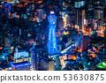«Osaka Prefecture» Tsutenkaku, City Night View 53630875