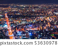 大阪大阪府大阪大阪·城市夜景 53630978