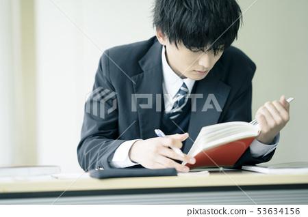 高中生學習補習班預備學校 53634156