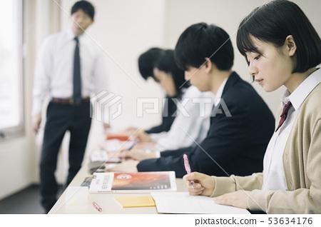 高中生學習補習班預備學校 53634176
