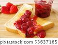 딸기 잼 토스트 53637165