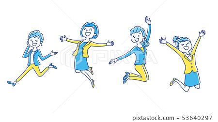 職業女性:跳躍 53640297