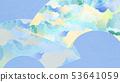 背景 - 日式日式 - 日式 - 日式紙 - 夏風扇 - 淺藍色 53641059
