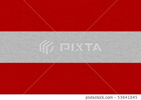 austria flag painted on paper 53641845