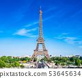 파리 에펠 탑 53645634