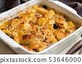 Fish with potatoes cooked in oven 53646000