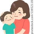 家庭朋友 - 媽媽和兒子 53652116