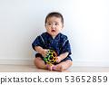 앉아 5 개월 아기 53652859
