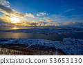 트롬 전망대에서 일몰 Tromsø Cable Car 53653130