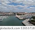 Cityscape of La Rochelle 53653718