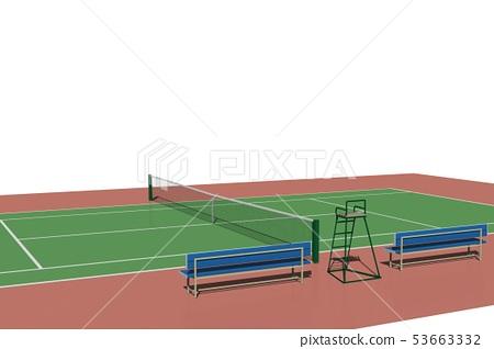 網球場(硬地球場) 53663332