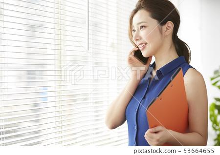 여성 비즈니스 53664655