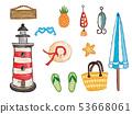 沙滩用具 53668061