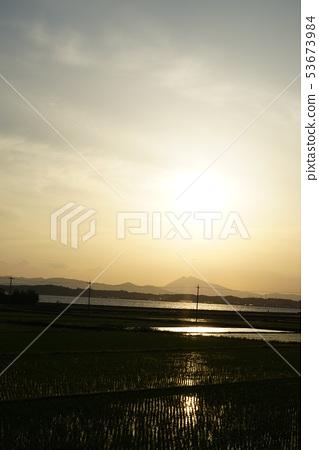 쓰쿠바과 전원 풍경 53673984