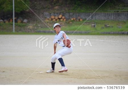 소년 야구 투수 53676539