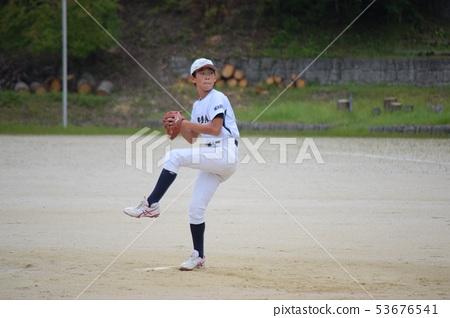 소년 야구 투수 53676541