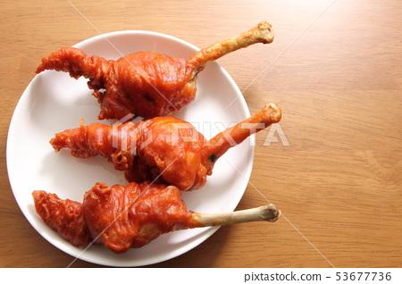 Chicken tulip fried chicken. 53677736