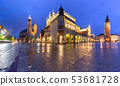 Main market square, Krakow, Poland 53681728