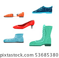 Set of shoes 53685380