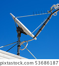 the concept of technology whit satellite dish 53686187