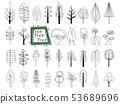 斯堪的納維亞樣式木頭的例證 53689696